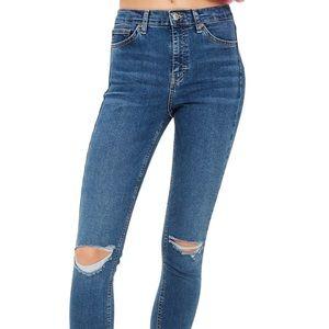 Topshop High Rise Jamie Jeans - Petite
